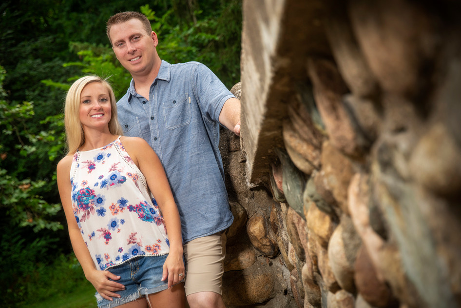 Engagement photos by Limelight Photography