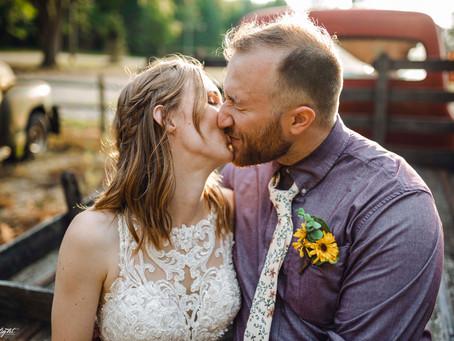 Katelyn + Kyle's Wedding | Peacock Road Family Farm