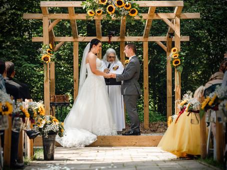 Elizabeth + Micheal's Wedding | Peacock Road Family Farm
