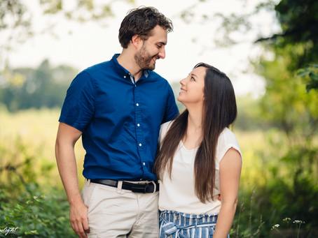 Catherine + Travis | Lansing Engagement Session