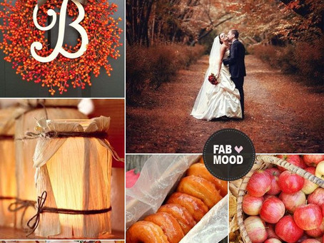 Fall in Love with Fall Wedding Trends