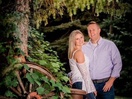 Kaleigh + Daniel | Lansing Engagement Session