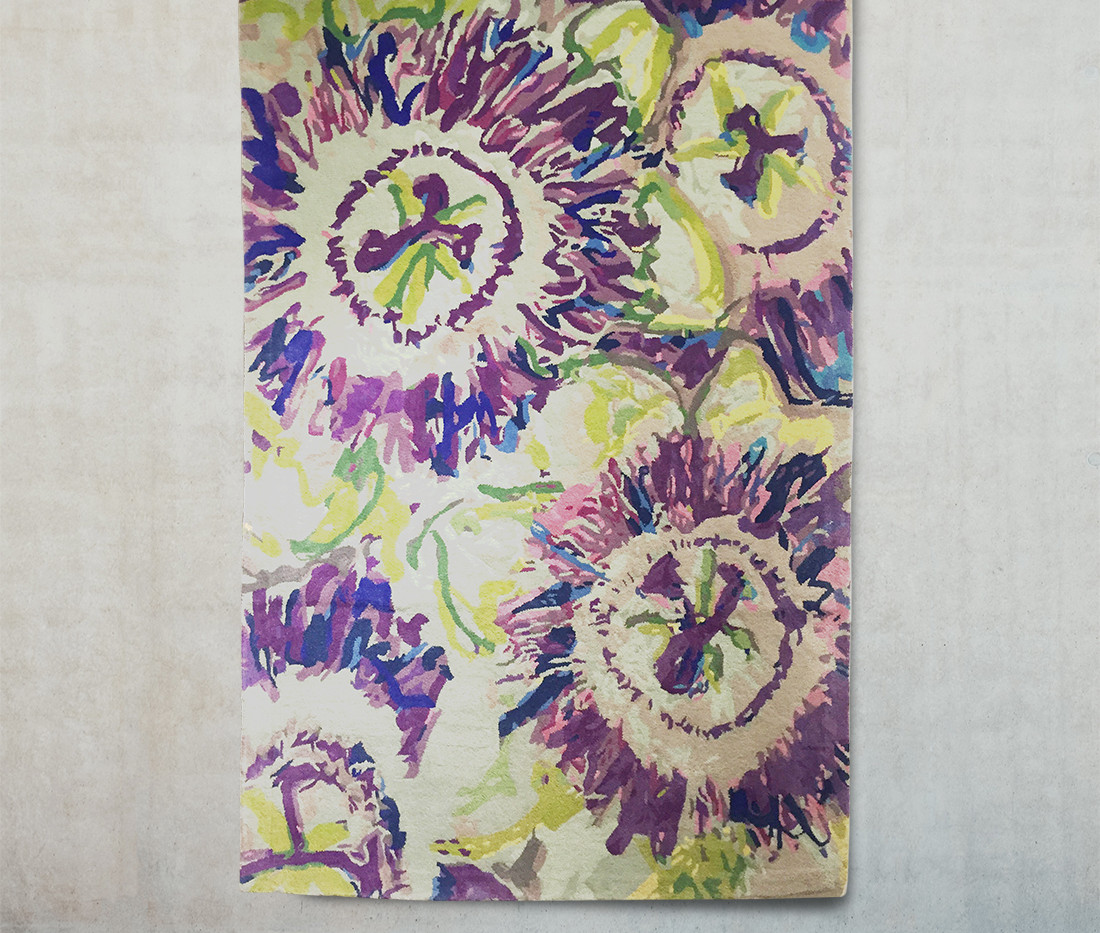 Passionflower rug on wall_low res.jpg