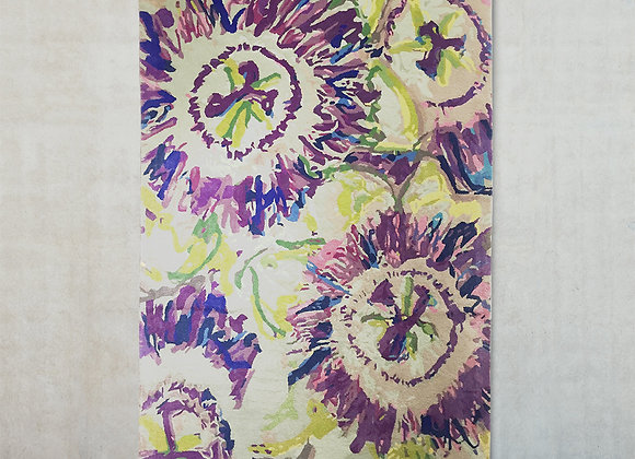 Passion Flower Rug