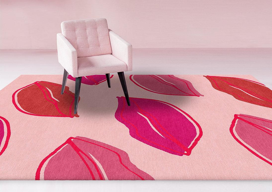Lips rug in room LR.jpg
