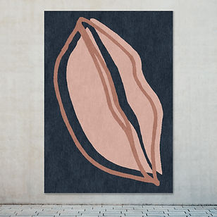 Kiss my lips rug on wall LR.jpg