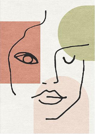 Linear face Rug.jpg