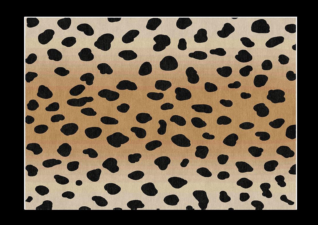 ombre leaoprd print rug measurement.png