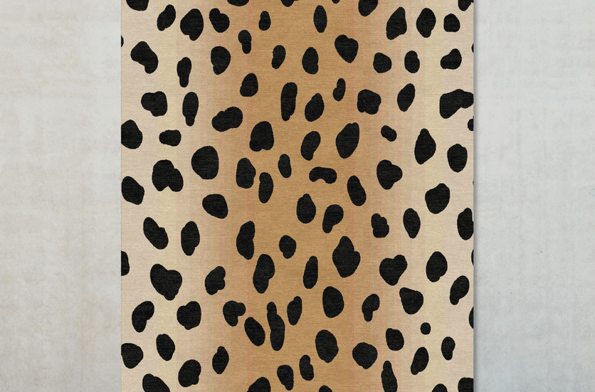 Ombre leopard rug on wall LR.jpg