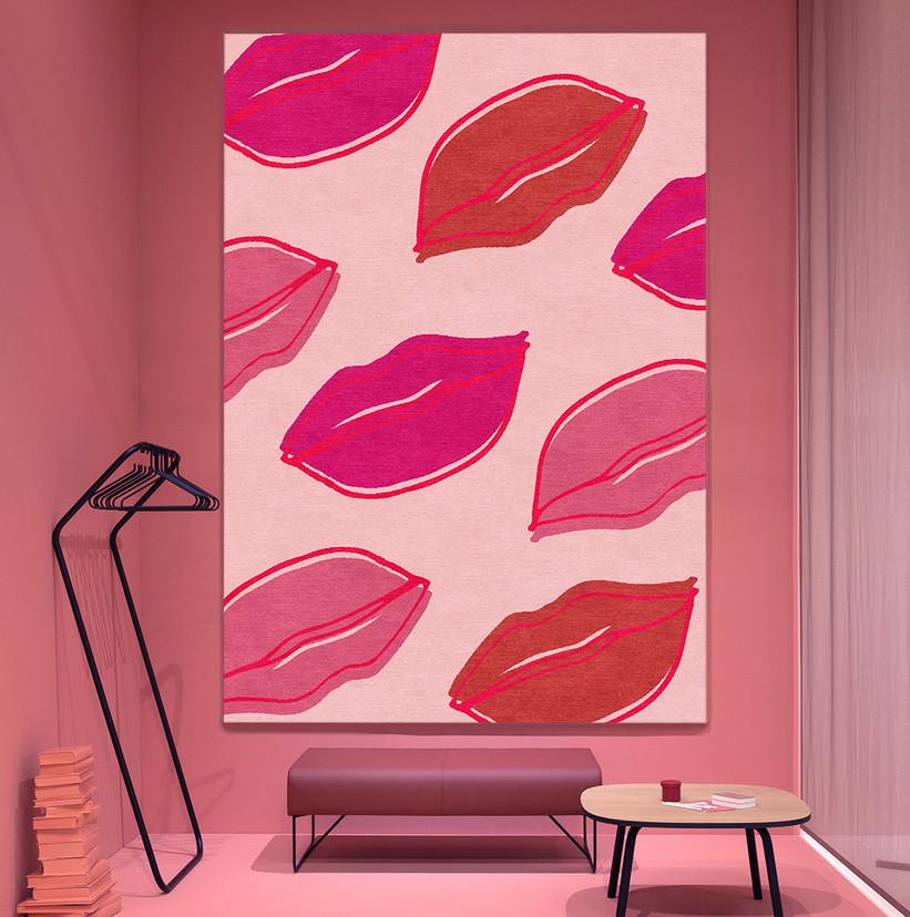 lips rug in pink room LR.jpg