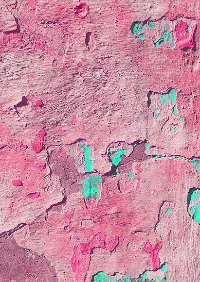 Peeling Green & Pink Isobel Morris.jpg