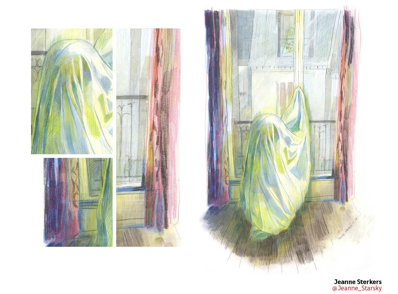 Le drapé et l'absence