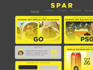 Spar, est un réseau social proposant des duels de choix. L'objectif est de divertir ses utilisateurs sur le principe de duel de n'importe quelle sujet, thèmes. Les cibles sont principalement jeunes où l'on marchandise l'opinion et le sondage dans un but récréatif mais aussi commercial.