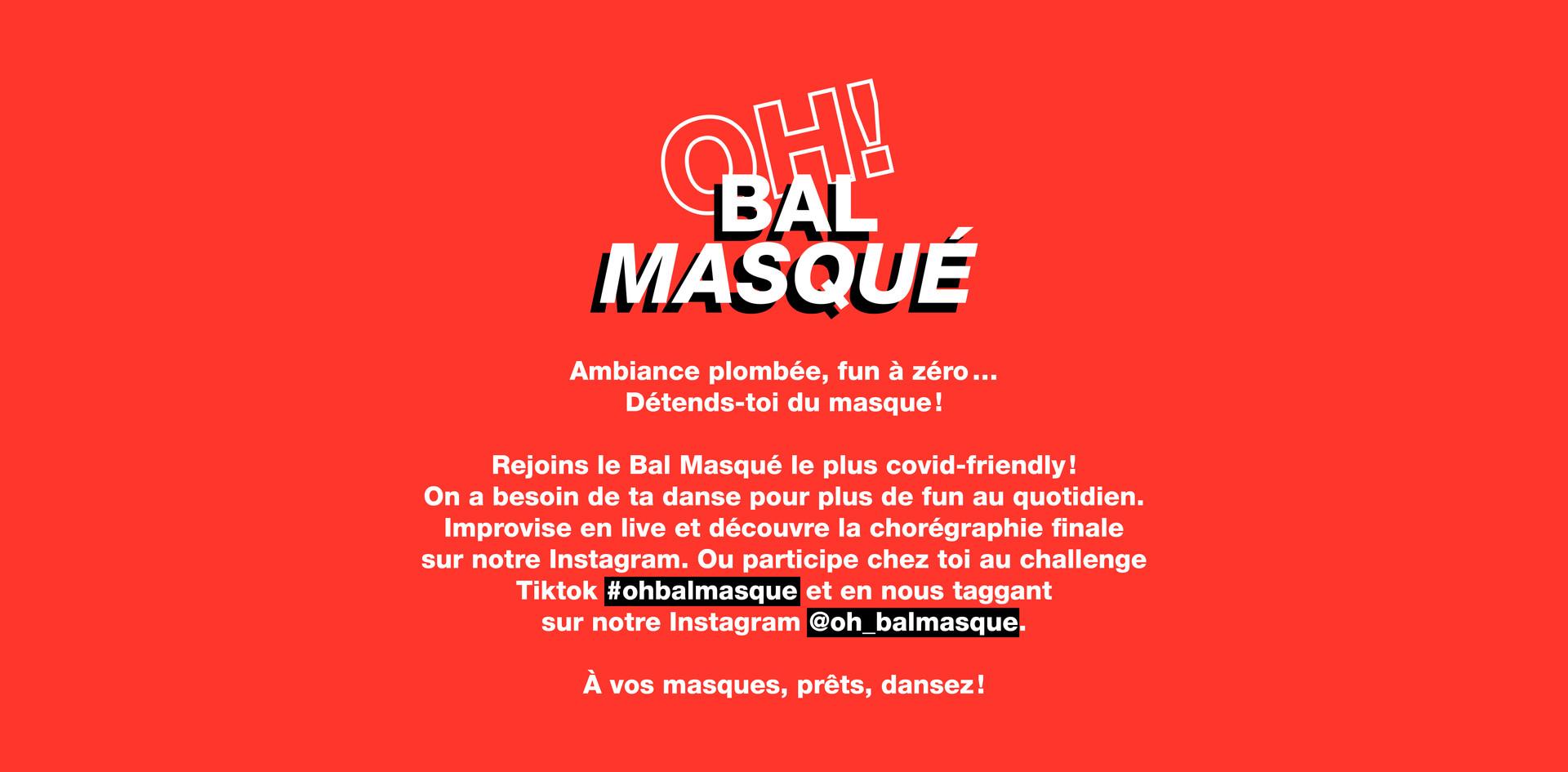 Oh bal masqué