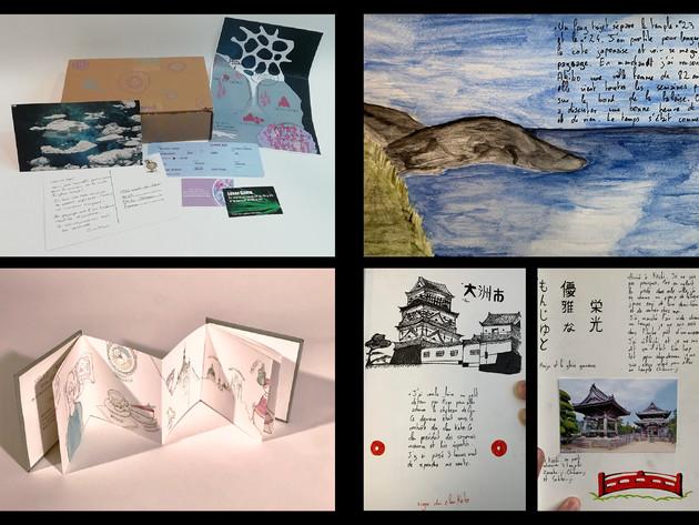 Projet d'Océane : Souvenirs de Kermor Projet de Loreen : Voyage à Pragues Projet de Guillaume : Le pèlerinage de Shikoku
