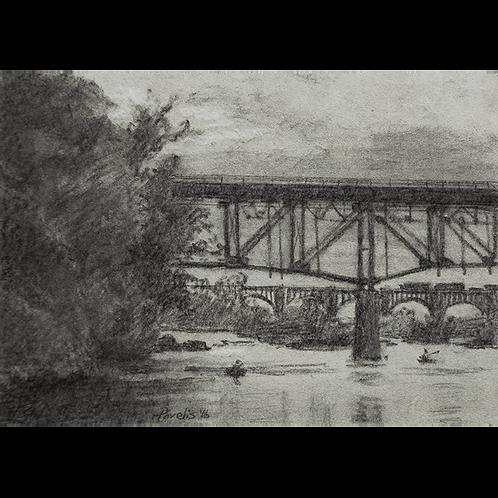 Dusk Under Nickel Bridge, 2016