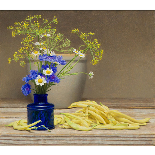 Dill and Pencil Pod Beans, 2015