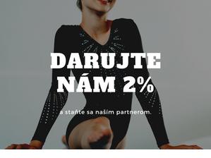 Darujte nám 2%