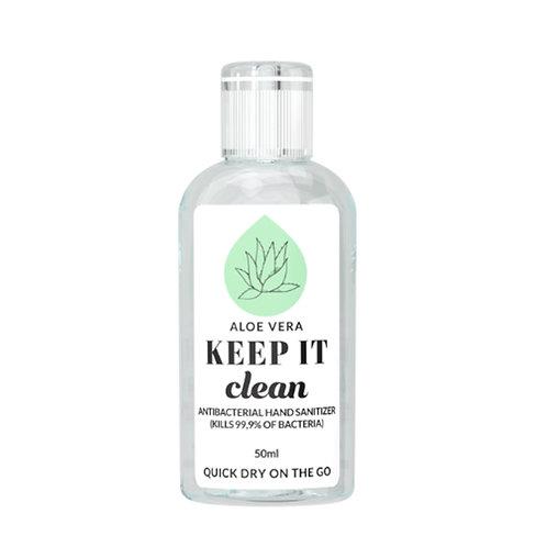 KEEP IT Clean Antibacterial Hand Sanitizer Aloe Vera 50 ml