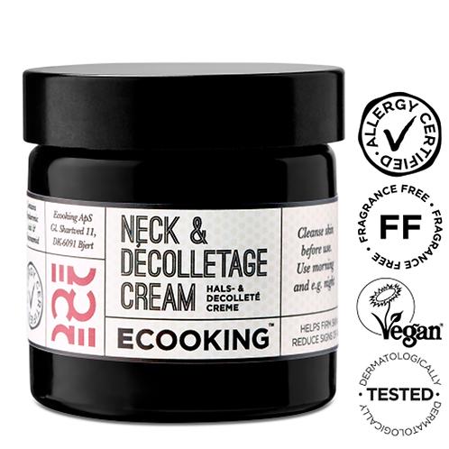 Ecooking Neck & Decolletage Cream kaula- ja dekolteevoide 50 ml