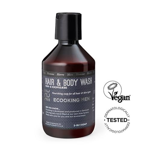 Ecooking Men Hair & Body Shampoo 250 ml