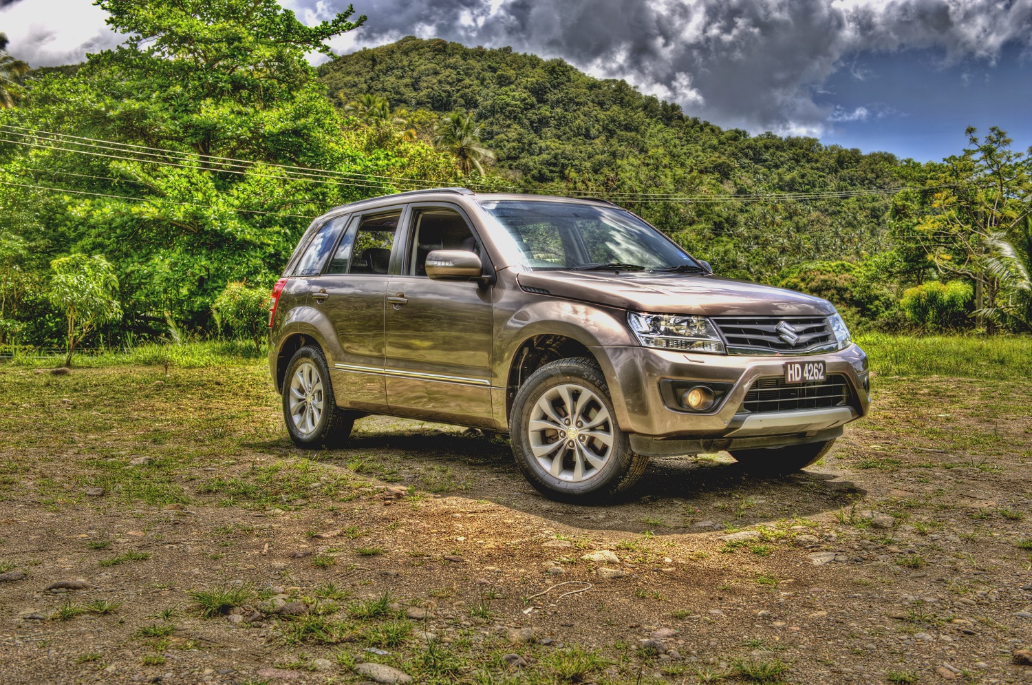 St.Lucia Car Rental Grand Vitara