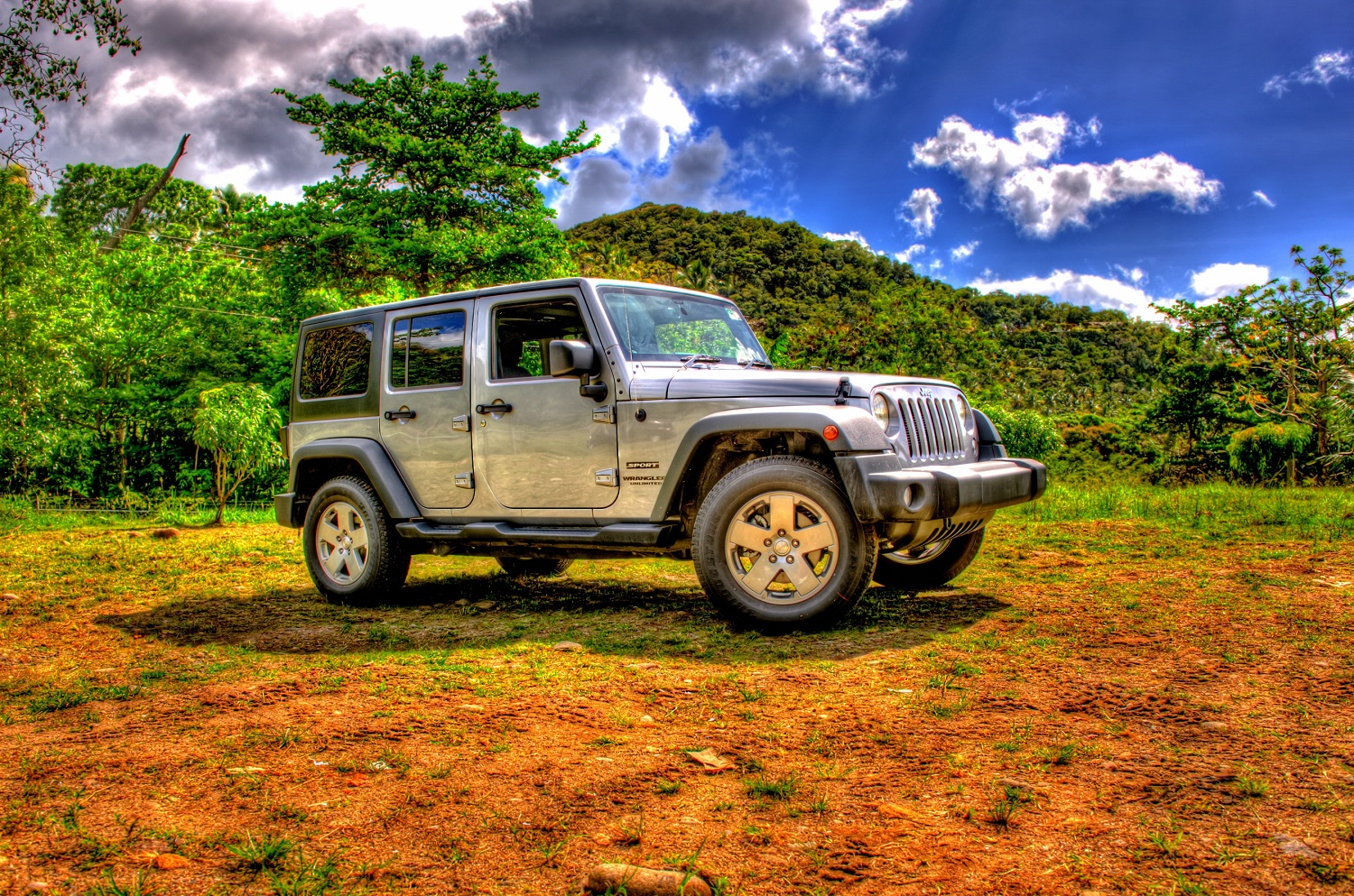 St.Lucia Car Rental Jeep