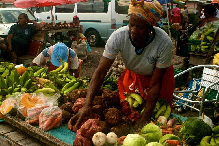 Saint Lucia Castries Market
