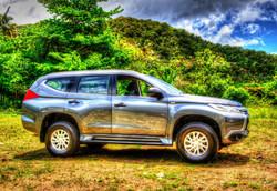 St. Lucia Car Rental Pajero Sport