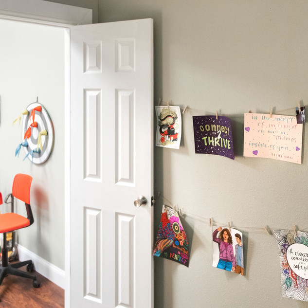 Child therapy space