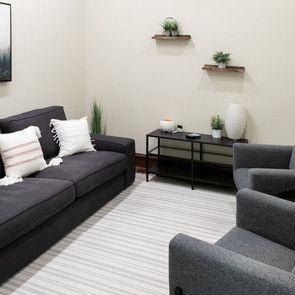 Talk therapy room