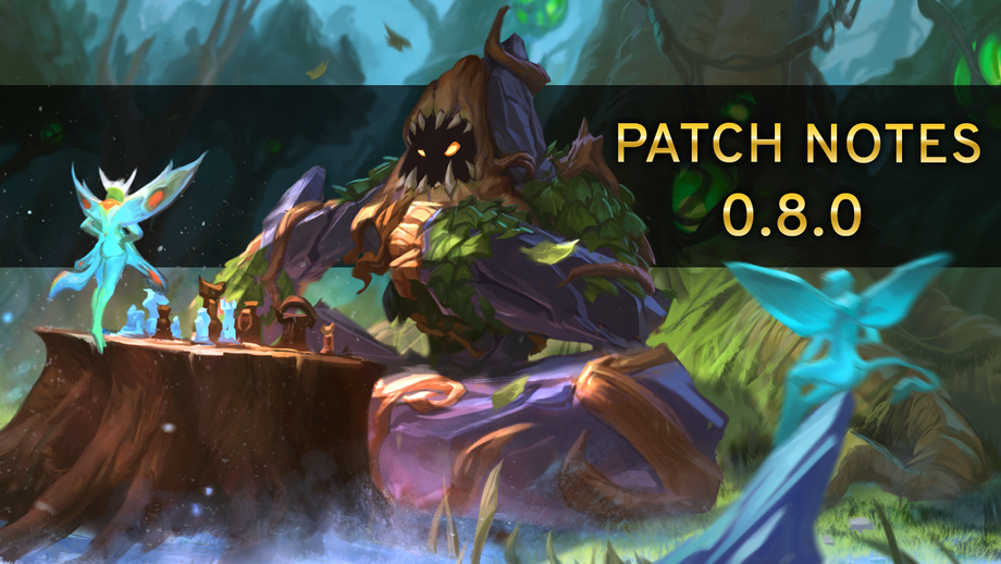 Patch Notes Version 0.8.0