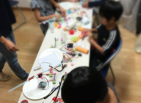 お友達グループでの電子工作ワークショップを開催しました