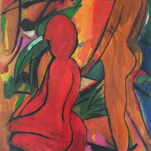 Eve+Adam in the Jungle