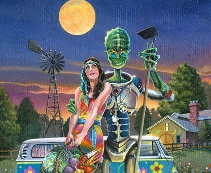 Aliens among us...Part 1