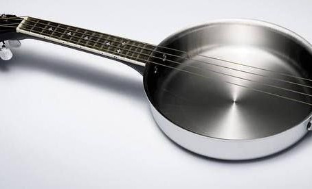 Out of the frying pan and into the...MUSIC