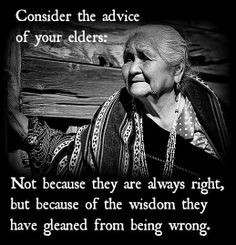 Our Times Call for True Elders not Mere Olders