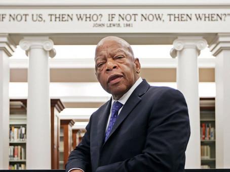 Remembering Rep. John Lewis – a veteran & inspirational civil rights leader & hero