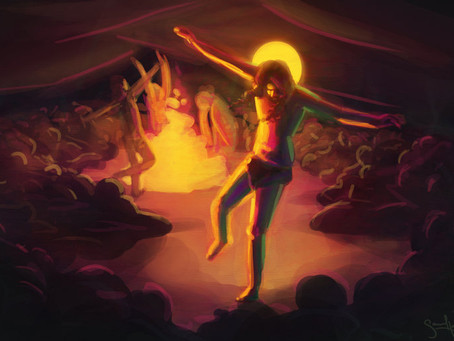 Resurrection: I danced myself right out of the tomb