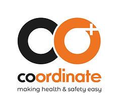 Coordinate Black Logo - white background