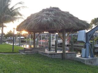 Canaleaver Dock Tiki Hut