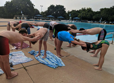 Sigma Stretching, Strength, and Conditioning for Swimmers