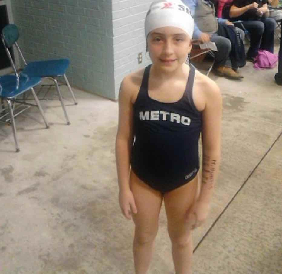 Here is the story of a swimmer that started out in our Sigma Swim School in 2013, who was afraid of the water, until she got inspired by Missy Franklin to become a swimmer.