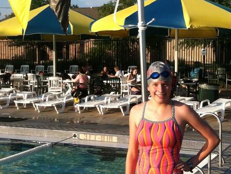 Sigma Swim Team Standouts: Lauren Bach