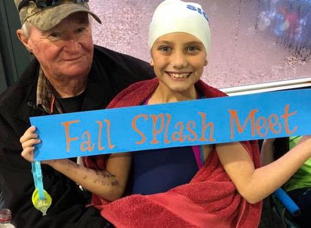 Fall Splash and USA Swimming BB-and-Over Meet Recaps!
