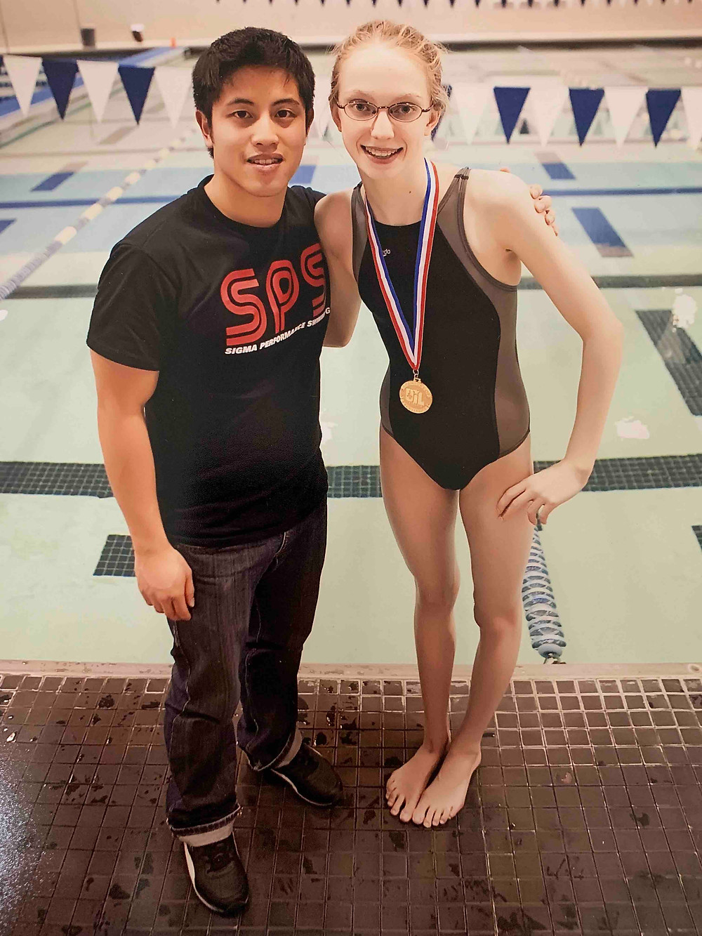 February 12, 2010: The day Kira won Regionals, qualified for State, and finally achieved her Sectionals cut in the 100 yard breaststroke in 1:08.79 after 6 months of little to no improvement.