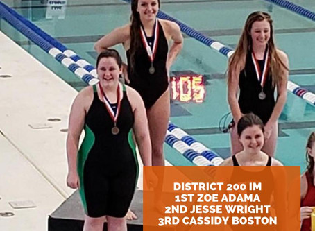 Sigma Swimmers Heading To High School Regionals