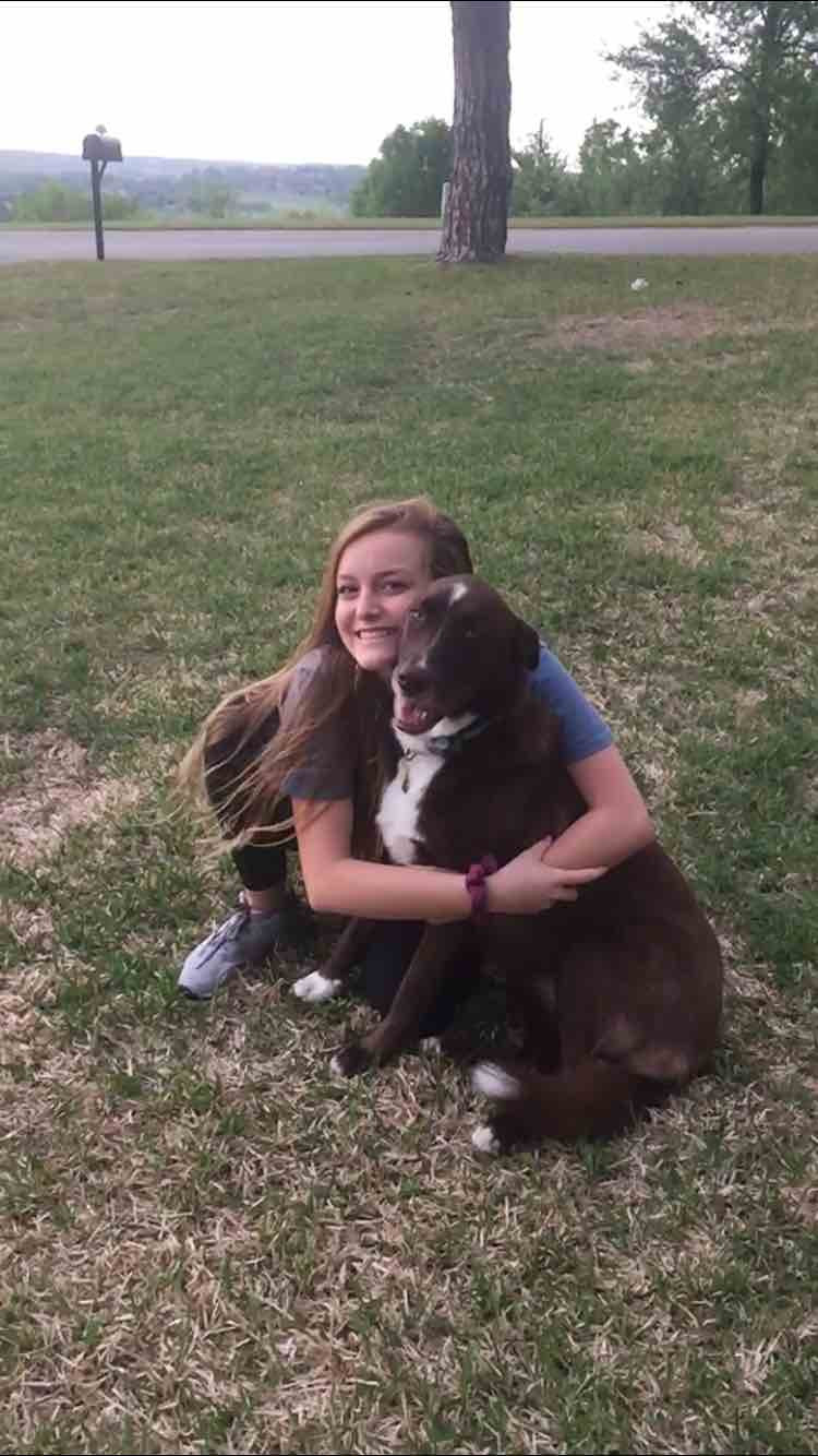 Sigma Fort Worth Swim School Instructor Zoe loves her swimmers AND her pup