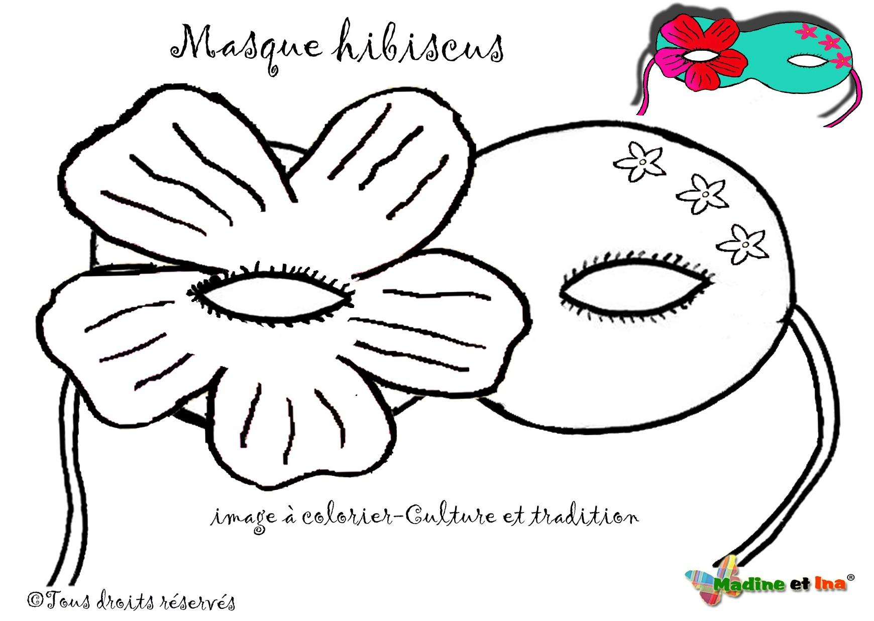 masque hibiscus