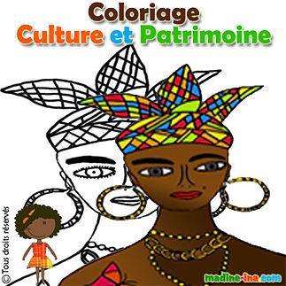 etiquette_coloriage_culture et patrimoin